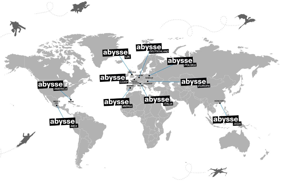 Abysse Corp map